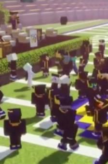 Une université organise sa remise des diplômes dans un lieu insolite