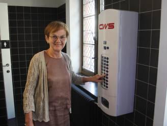 Gemeente biedt kansarme vrouwen gratis menstruatieproducten in automaat