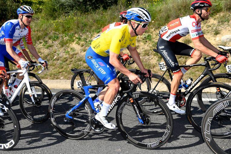 Remco Evenepoel mag zichzelf ontdekken in de Giro. Beeld Photo News