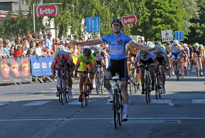 De Belgische wielrenster Jolien D'Hoore won in de eerste jaren van de BeNe Ladies Tour veel (Zeeuwse) etappes.