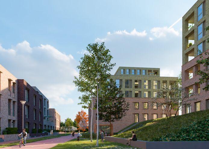 Projectontwikkelaar Synchroon verkoopt 25 appartementen in nieuwbouwplan Witt in Woerden aan woningcorporatie GroenWest.