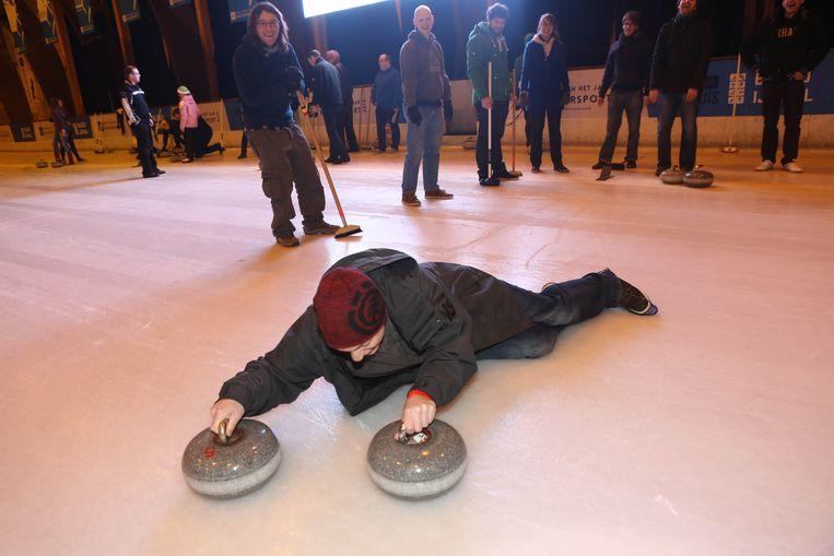 """Een sluiting van de schaatsbaan? """"Voorlopig geen sprake van"""", zegt Sport Vlaanderen."""