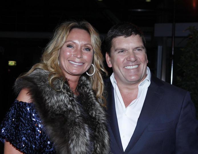 Frank en Sandra in 2015.