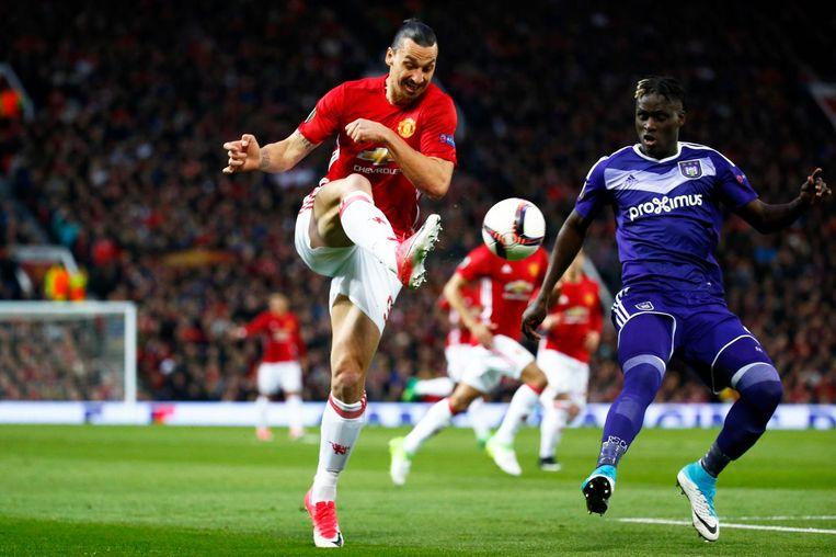 Zlatan Ibrahimovic. Beeld photo_news
