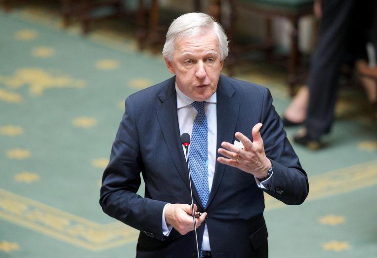 Minister van Pensioenen Daniel Bacquelaine (MR). Beeld belga