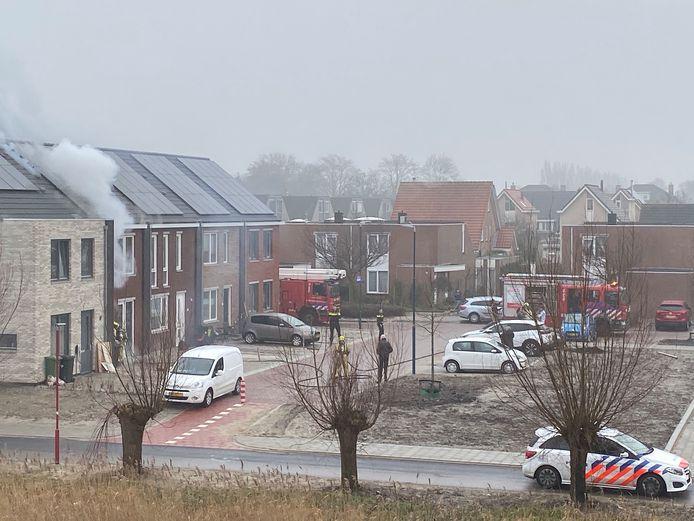 Brand Zoetermeer nieuwbouw