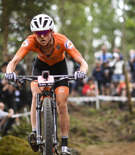 Mountainbikester Anne Terpstra sloeg NK over om weer op krachten te komen na slopend seizoen