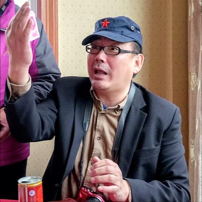 Yang Hengjun in Tibet in juli 2014.