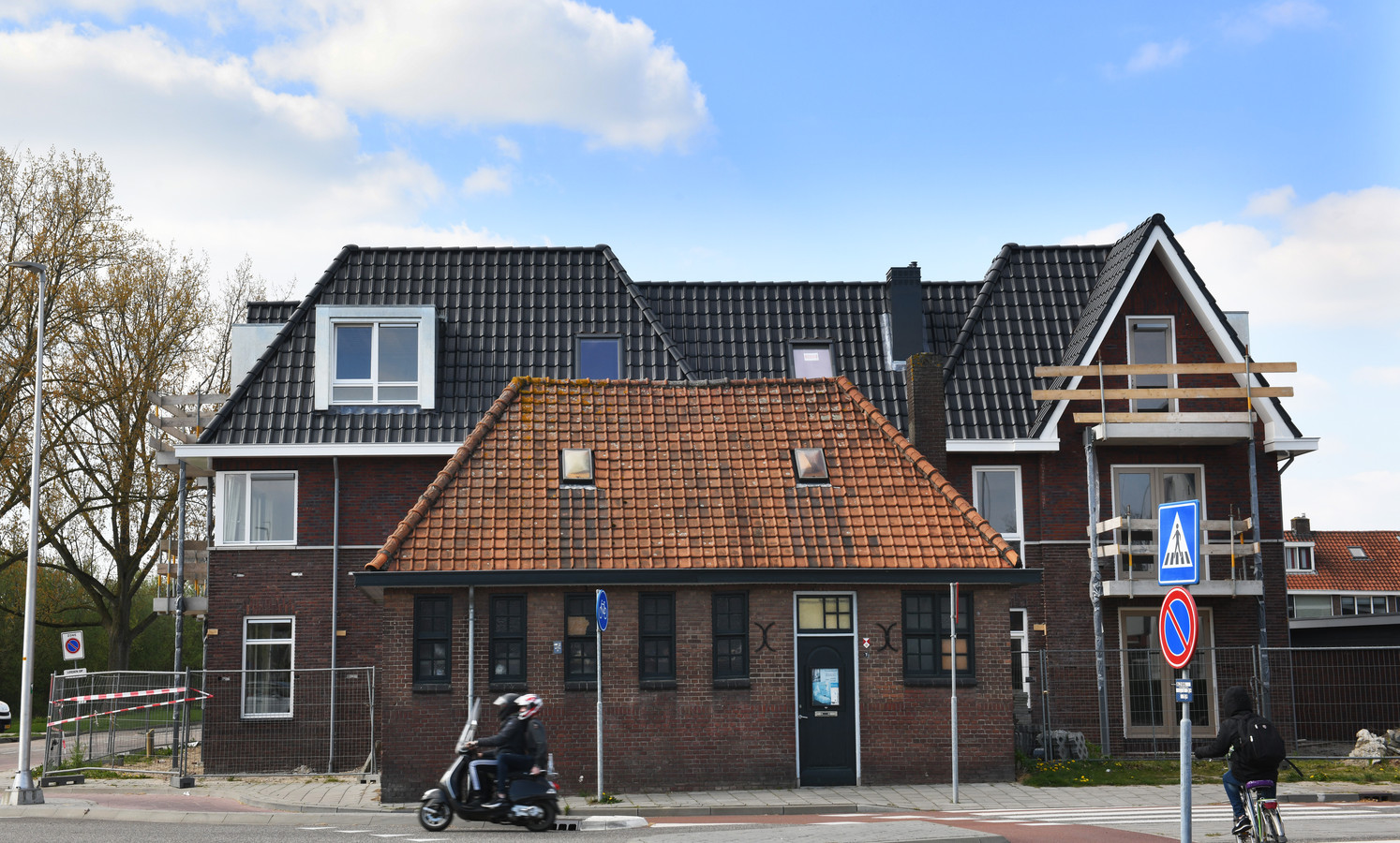 Het voormalige badhuis in Culemborg blijft gewoon op zijn plek.