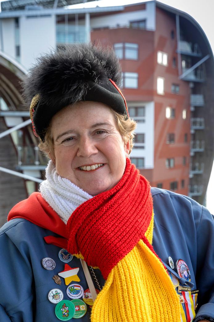 Nederland,  Den Bosch, Rubriek de stad vanÖÖÖÖ.. Helma van Leeuwe,Minister van Optochten