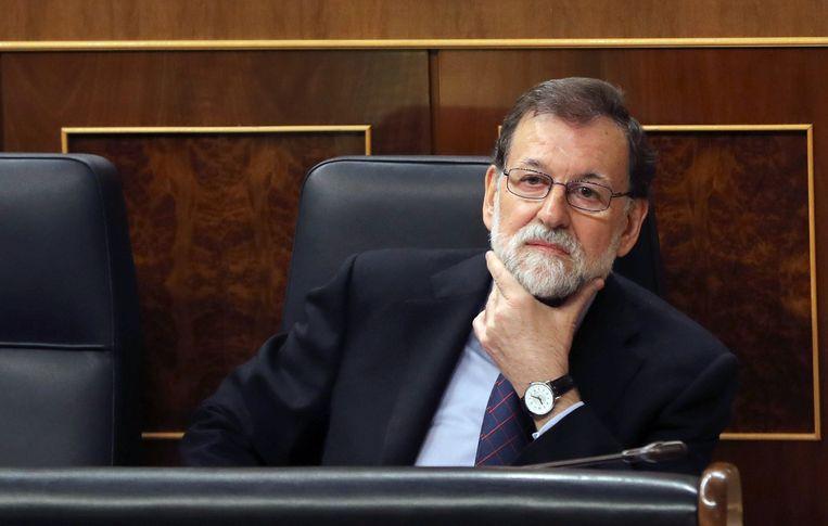 De Spaanse premier Mariano Rajoy (PP).