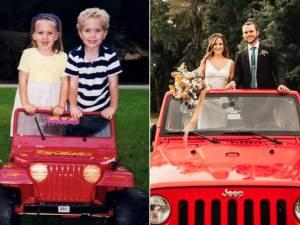 Inséparables à 5 ans, éloignés pendant 12 ans, ils se retrouvent et se marient