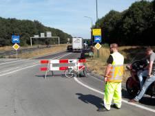 Opnames voor film 'Bumperkleef' hinderen verkeer van Hilvarenbeek naar Tilburg