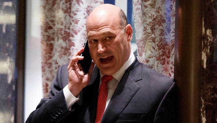 Voormalig Goldman Sachs-topman Gary Cohn, directeur van de Nationale Economische Raad Beeld ap