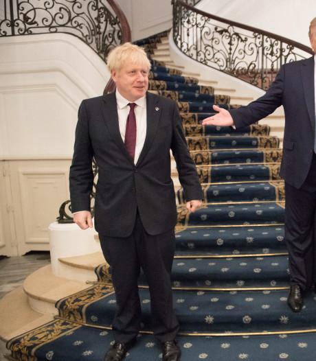 """Trump: """"Boris Johnson est l'homme qu'il faut pour le Brexit"""""""