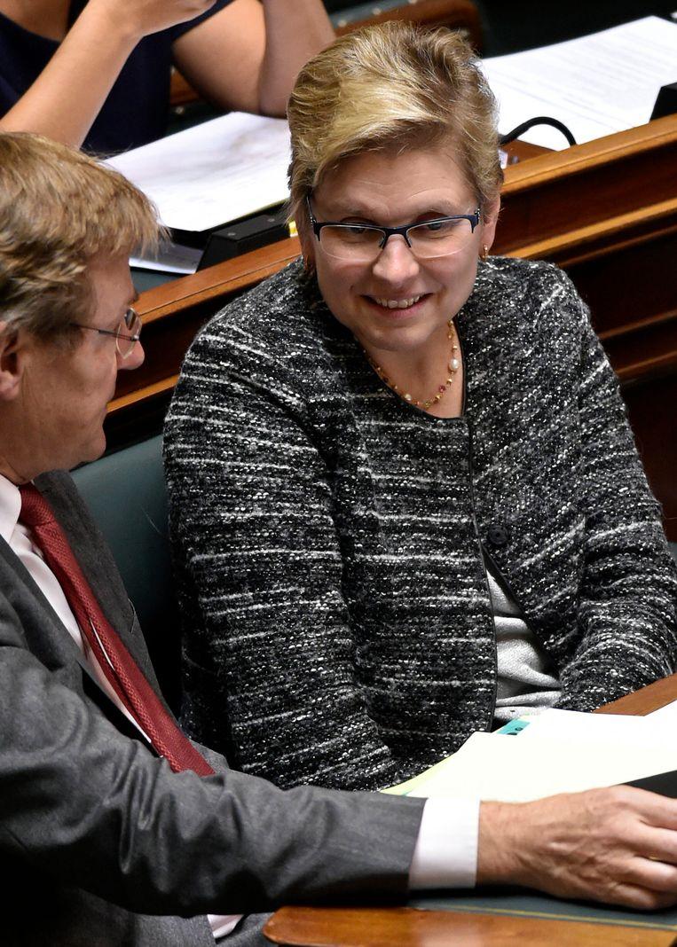 Staatssecretaris Elke Sleurs Beeld PHOTO_NEWS