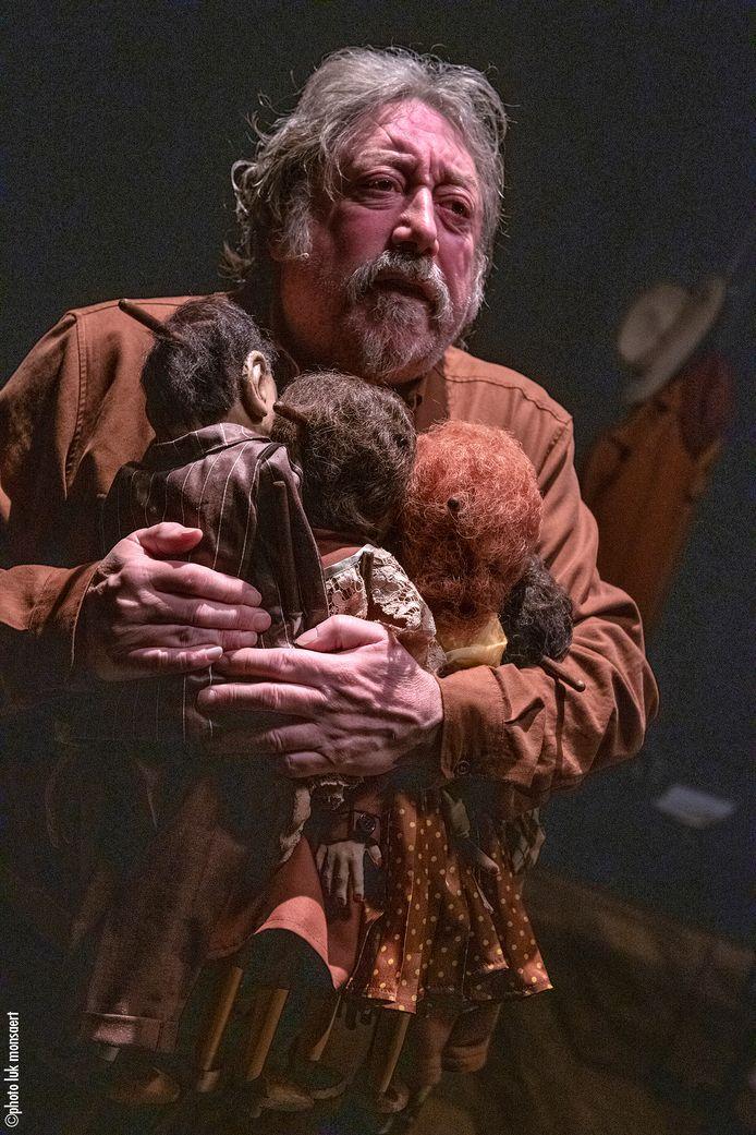 Een beeld uit de voorstelling 'Jood... en fier'