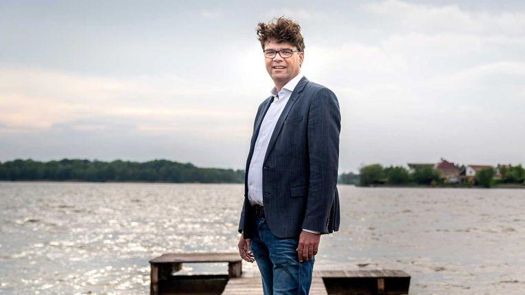 Ondernemer Erwin Balkema: 'Je moet geen steun vangen en dan op je gat gaan zitten.' Beeld Reyer Boxem