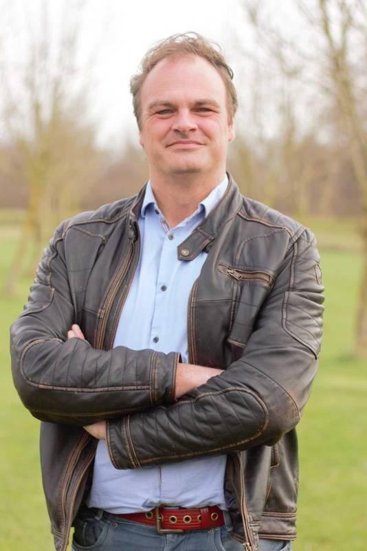 William Verbij, omgevingsmanager Coolsingel. Werkt bij aannemingsmaatschappij Van Gelder