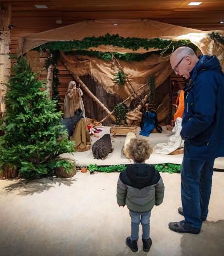 Commotie op sociale media: wel kerststal, maar géén Jezus bij Radboudumc
