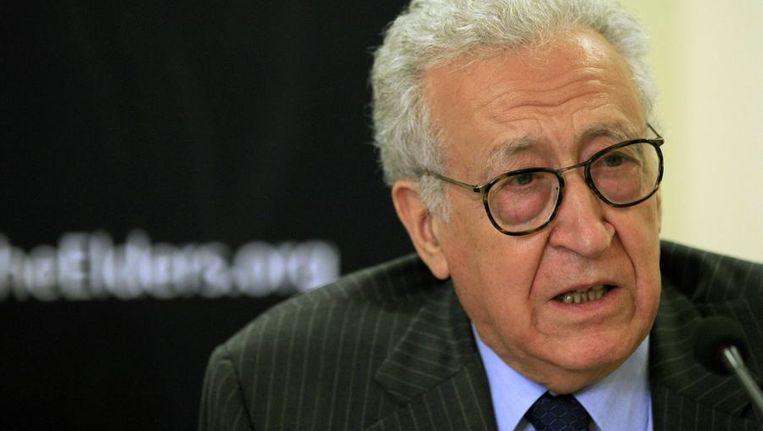 De Algerijnse diplomaat Lakhdar Brahimi. Beeld reuters