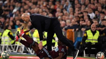 Aidoo tackelt Zidane