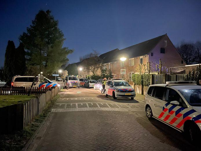 De politie kwam met meerdere eenheden ter plaatse.