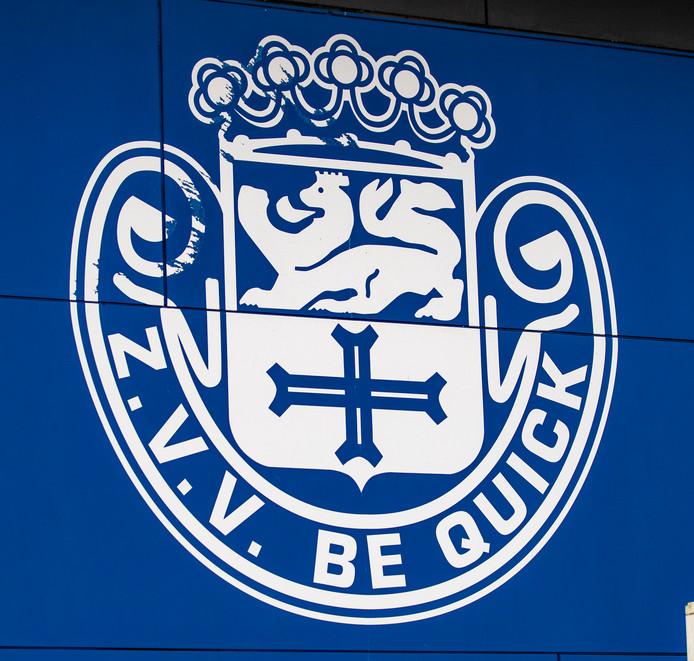 Het logo van Be Quick Zutphen. De vraag is of de club blijft voortbestaan.