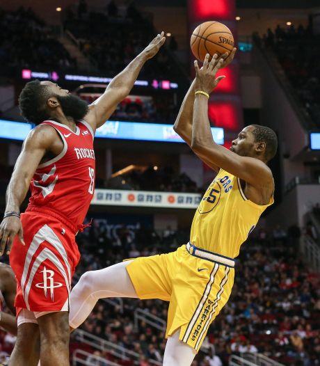 Houston Rockets bezorgt Golden State Warriors vierde nederlaag