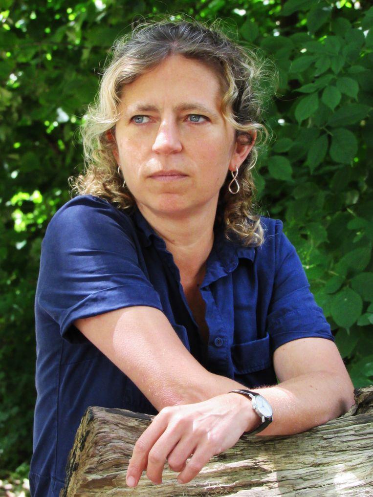 Joukje Akveld, kinderboekenschrijver en journalist. Beeld Ton Koene