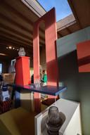 Beeld van de studio van Kiki van Eijk en Joost van Bleiswijk, deelnemers aan DesignOpen.