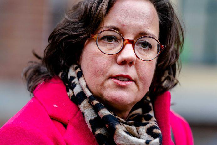 Minister Tamara van Ark (Medische Zorg, VVD) op het Binnenhof