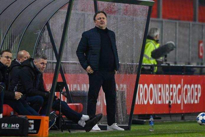 """De Graafschap-trainer Mike Snoei: ,,De druk is groot."""""""