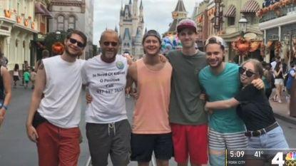 Hoe een T-shirt in Disney World het leven van Robert (60) redde