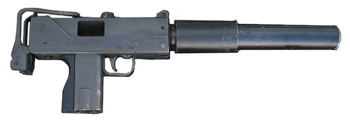 Machinepistool Ingram M10.