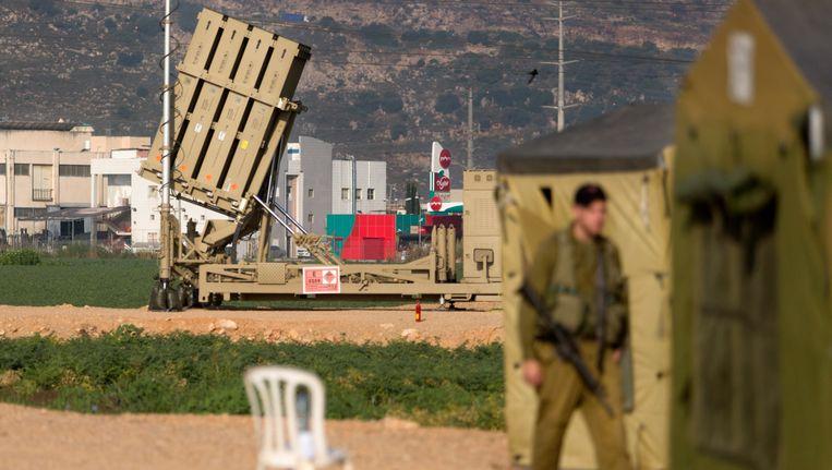Luchtverdedigingssysteem in Israël. Beeld epa