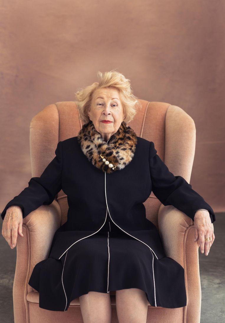 Arlette Schellenbach (95): 'Je moet je leven lang vrienden blijven maken' Beeld Dana van Leeuwen