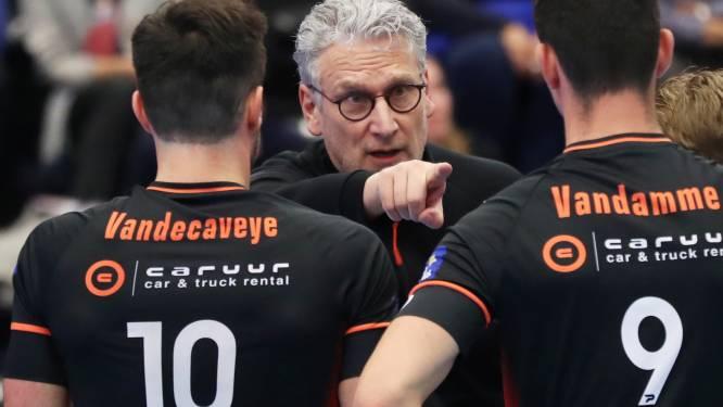 """Jan Van Huffel: """"We hebben met Caruur Gent twee knappe sets gespeeld, dat moet het zelfvertrouwen opkrikken voor de volgende opdrachten"""""""