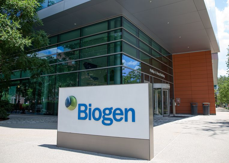 Biotechnologisch bedrijf Biogen.  Beeld EPA