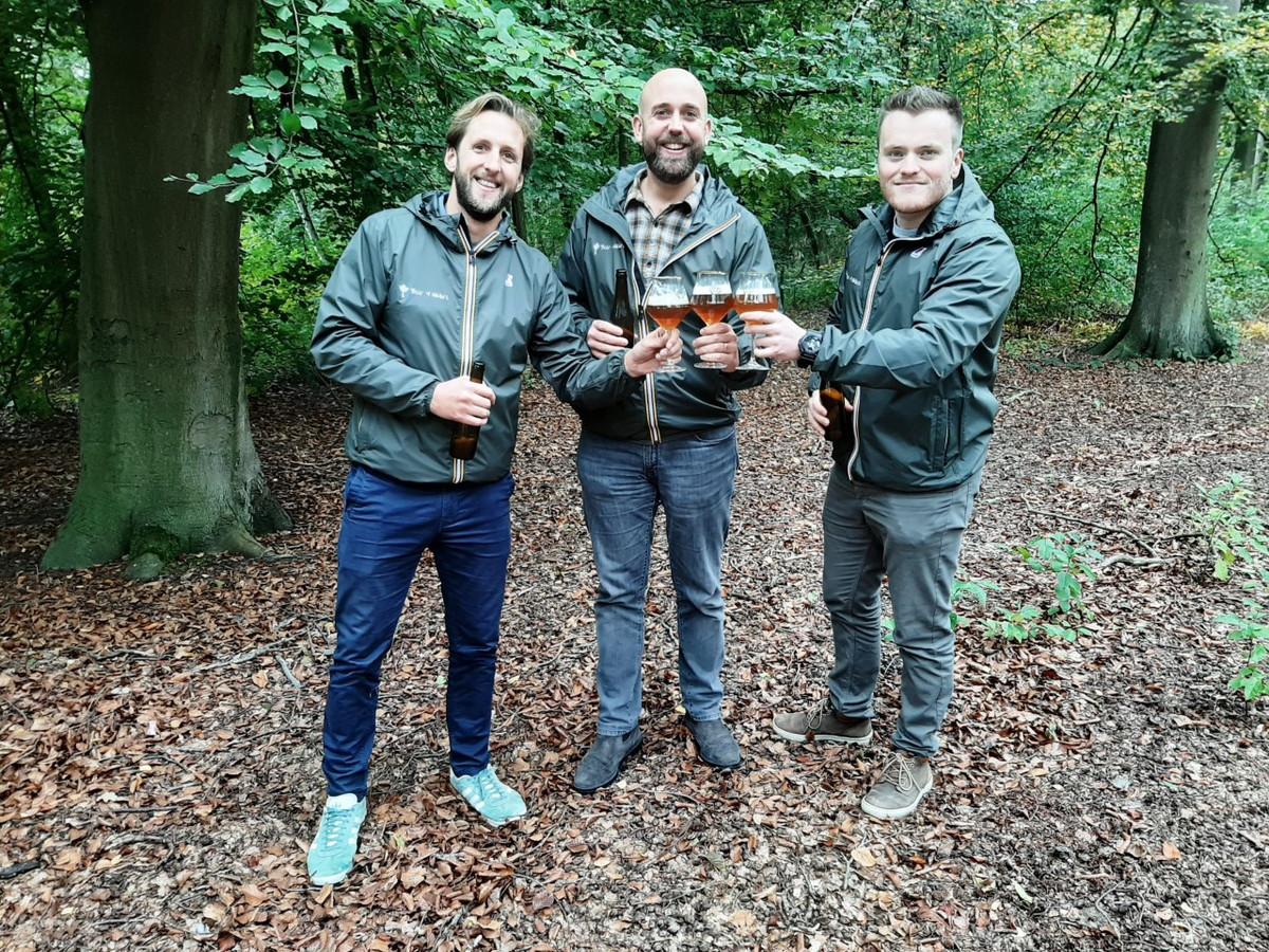 Kevin Vleminkx, Jeroen De Muynck en Pieter Vanhoof van Beer 4 Nature