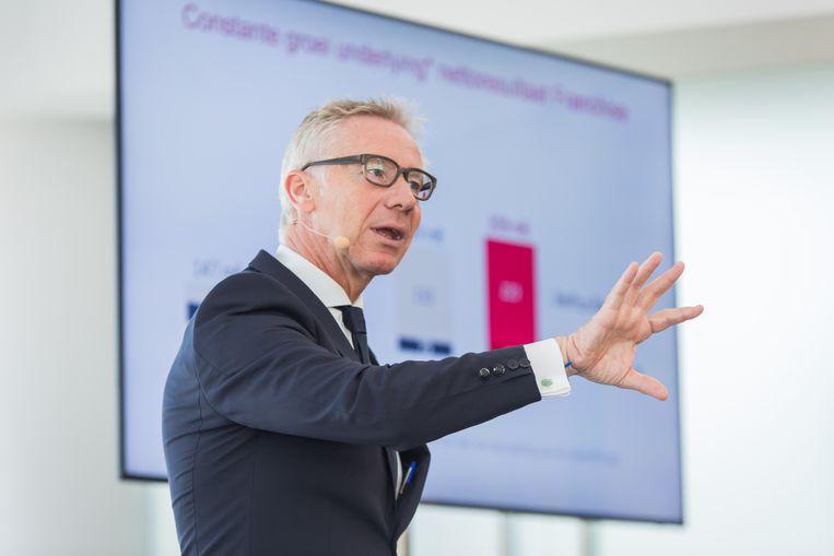 Belfius-CEO Marc Raisière. Beeld BELGA