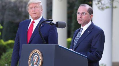Trump ontkent voornemen om minister van Volksgezondheid te ontslaan