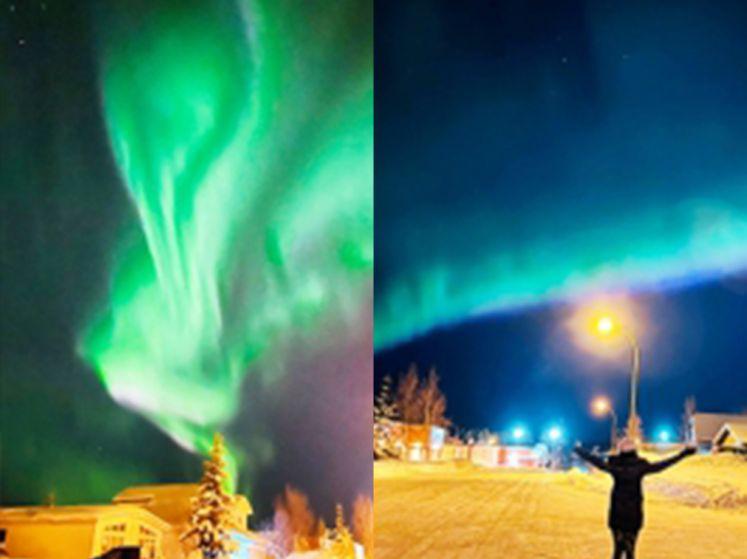 Prachtige beelden van poollicht in Canada