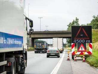 Dit jaar 34 grote werven langs Vlaamse snelwegen