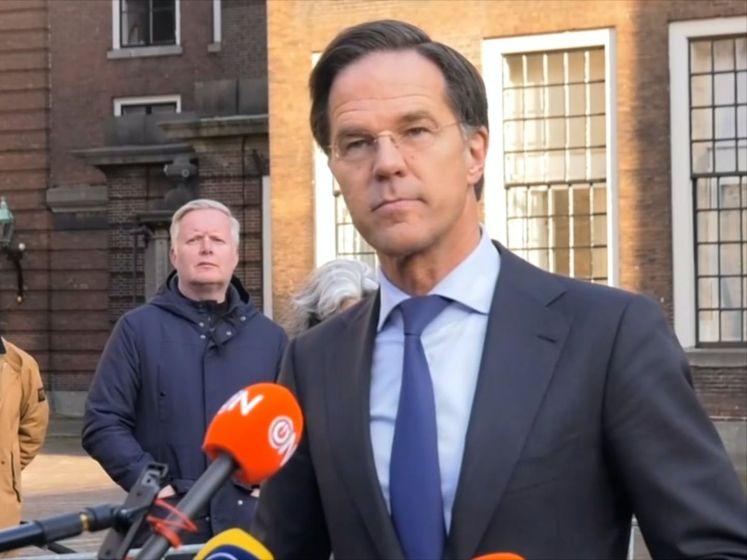 Rutte: 'We hebben indringend gesproken over vertrouwen'