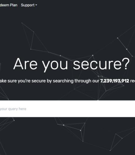 Opnieuw een website met miljarden inlognamen en wachtwoorden? 'Back-up is logische gedachte'