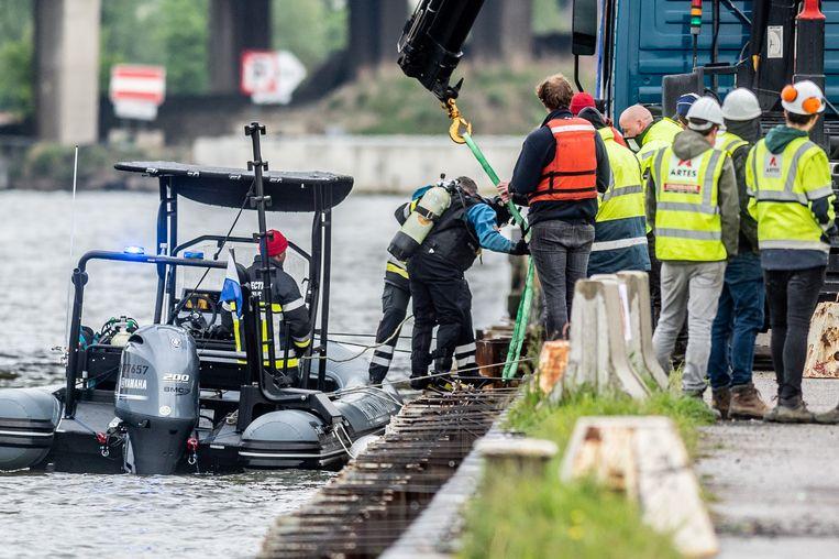 Het lichaam van Julie Van Espen werd teruggevonden in het Albertkanaal in de buurt van het Sportpaleis.