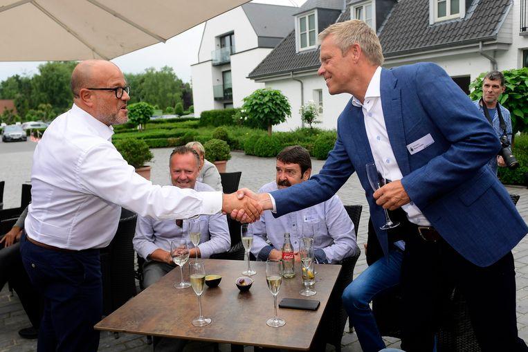 Bart Verhaeghe en Foeke Booy.