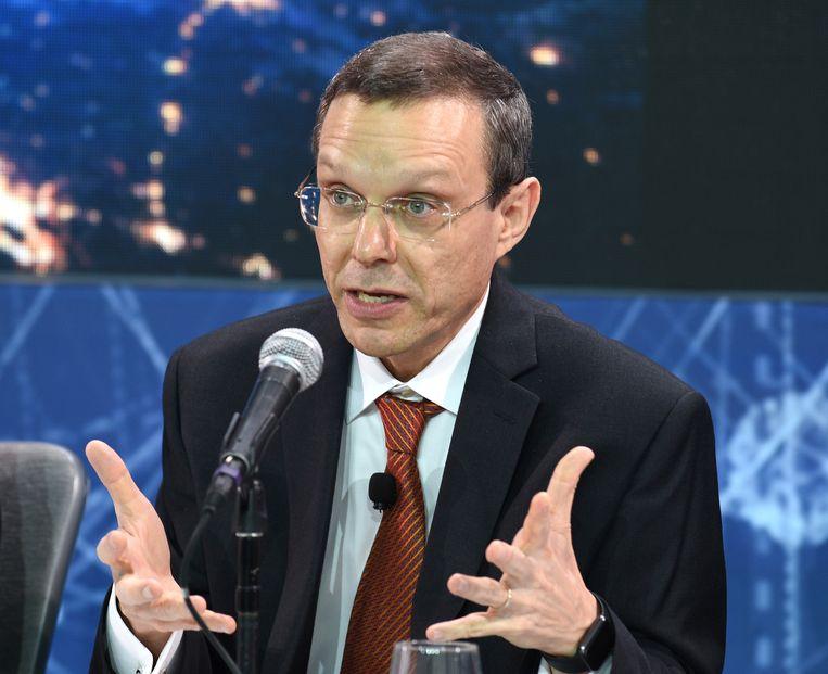 Avi Loeb, hoofd van de afdeling sterrenkunde aan Harvard. Beeld Getty