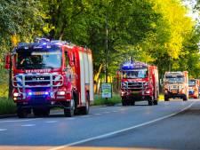 Fikse brand in Apeldoorn? Nee, grote colonne-oefening van brandweer
